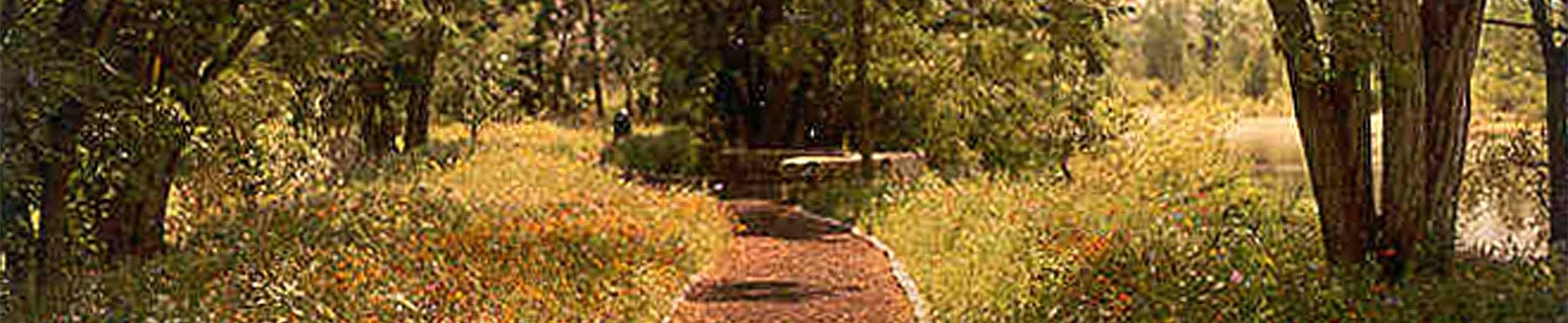 Idaho Shakespeare Festival natural landscape design walking path