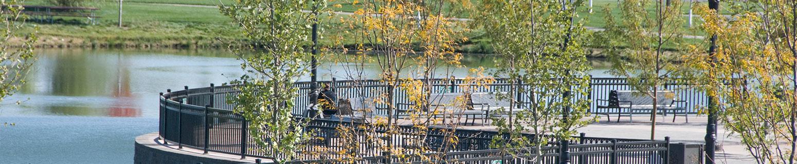 Kleiner Park waterfront landscape design and site planning
