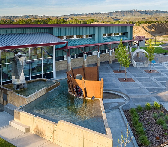 Boise Watershed River Campus recreational landscape design